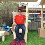passendes Zepter aus Holz