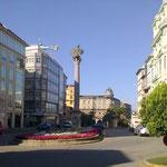 Plätze in enger Innenstadt