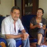 Pilars Schwester Herminia und Schwager Eladio als Landsitz bewohnen.