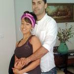 und der älteste Sohn von Schwester Herminia Graziano mit kubanischer Freundin sowie...