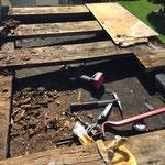 Dach Repariart (vorher)