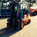 click on the picture to see our forklift trucks 1-9 to