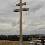 Zimmerei Förster, Estenfeld Patriarchenkreuz Kürnach