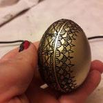 le uova dipinte di Angela Pircu