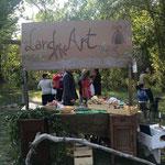 Arte nel parco land art sul fume Trebbia.