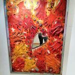 """Rivergaro: Mostra spazio permanente """"Percorsi diversi"""" del  Centro di Lettura   Alessandro Testuggine """"Proprietà Privata, tutto può essere arte""""     Inaugurazione Sabato 13 ore 18,00  visitabile dal 13  al 26 gennaio 2018"""