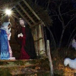 Presepe di Lisore  di Cerignale Natale 2017