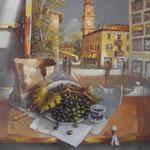 """Rivergaro: Mostra spazio permanente """"Percorsi diversi"""" del  Centro di Lettura   """" COLORI E ATMOSFERE """"  di Claudio Guatteri  dal 16 marzo al 5 aprile  Inaugurazione SABATO 16 marzo ore 17,00"""