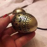 le uova dipinte di Angela Lucutar