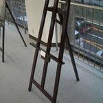 イーゼル大(幅600mm 高さ1550mm)×3脚