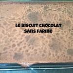 Le biscuit chocolat sans farine