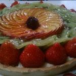 La tarte aux fruits de saison