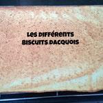 Les différents biscuits dacquois