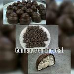 Les guimauves au chocolat noir