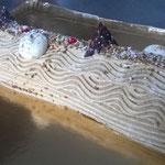 La bûche traditionnelle au praliné