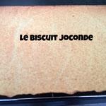 Le biscuit joconde (aux amandes)