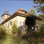 Кирха Borchersdorf - Зеленополье 2000 г.Охраняется государством.