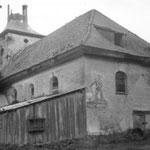 Кирха Borchersdorf - Зеленополье 1986 г.  Охраняется государством.