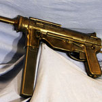 Ithaca M3A1 Greasegun. Cert.no. 43 € 1650,-