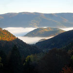 Le Gazon vert au dessus des nuages - Vosges - Alsace