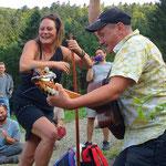 Guinguette du Gazon vert avec Maggy Bolle et David Vincent - Août 2017