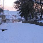 Schneelandschaft in Zied