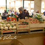 Markt in Vibo Valentia, jeden Samstag