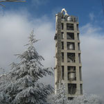 TURQUIE - Tour de préchauffage mixte acier-béton, 120m de hauteur