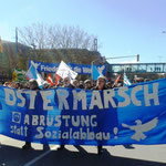 Fronttransparent Ostermarsch Kiel 2015