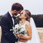 Brautpaar-Shooting in Höchberg