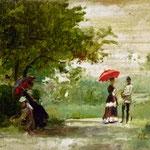 Theodor Aman: Landschaft