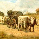 Theodor Aman: Ochsenkarren