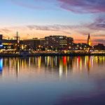 Nachtaufnahme Kiel