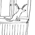 Freitag, 20. März 2020, Der Yenosaurolapus ist auf dem ersten Blick ein scheues Tier, doch nach einiger Zeit wird man feststellen, dass man ihn kaum wieder los wird. Typischerweise sitzt er gerne auf Fensterbeänken.