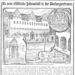 Ein Artikel in der Berliner Morgenpost von 1902 zur Eröffnung des Bades [klick auf's Bild = Vergrößerung]