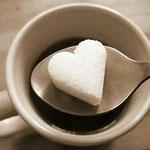Terrones de azúcar con formas