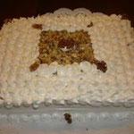 Torta de cayote y nuez