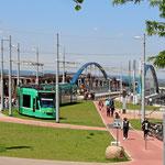 Tram 8 - die Strassenbahn von Weil am Rhein nach Basel