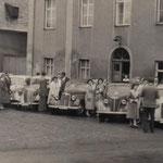 Keglerausfahrt 1950