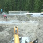 Aufräumarbeiten mit Oberlecher Bauaufsicht