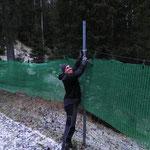 Netze höher hängen Forststraße Stierloch