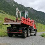 Baggerrücktransport Stierloch, mit U530