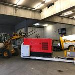 Schneeanlagen Plattform für Bigabhänger oder Unimog 530 Hakengerät