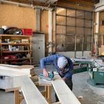 Liege konstruieren in der Tischlerei