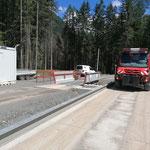 ...und Transport zur Deponie ins Lechtal, mit U530