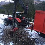 Letzte Forstarbeiten Chalberläger