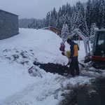 Wasserwerk Zug, Leitungsrohr für Heizband Tagwasserrohr verlegen
