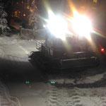 Skiabfahrt Tannberg mit Snow Rabbit 3 präparieren