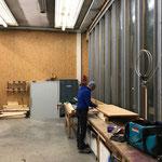 Tisch bauen für Container