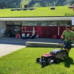 Rasenpflege sport.park.lech